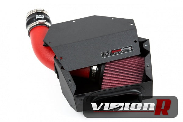 Grimmspeed Black intake kit with enclosed box. Made in USA