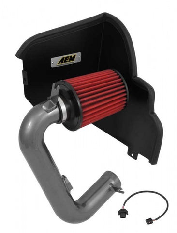 AEM cold air intake kit. Includes shield/box, pipe kit and harness for bolt on.