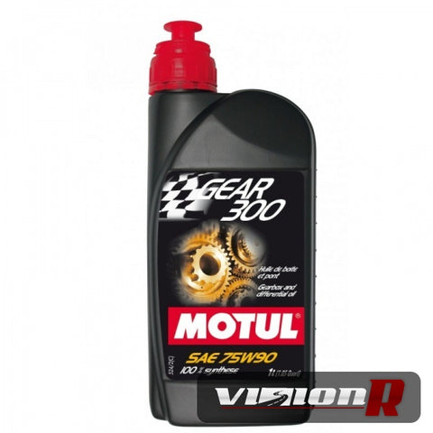 MOTUL Gear 300 75W90. 100% Synthetic sold as per 1L bottle.