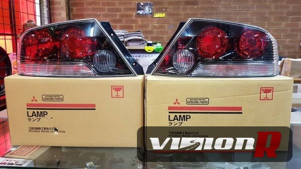 Mitsubishi Genuine USDM Evo 9 Tail Lamps with Clear indicator
