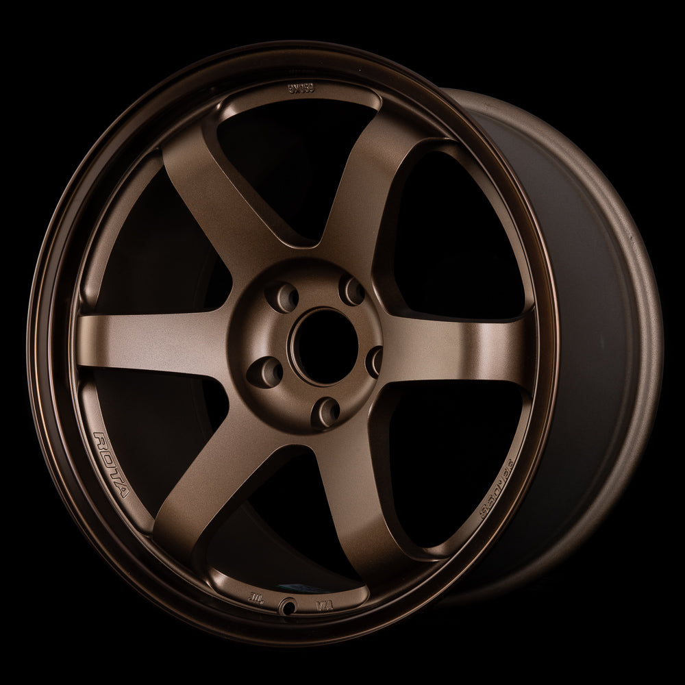 ROTA GRID R 360 Flow Forged 18 x 9.5, 5x114.3 +18 Speed Bronze