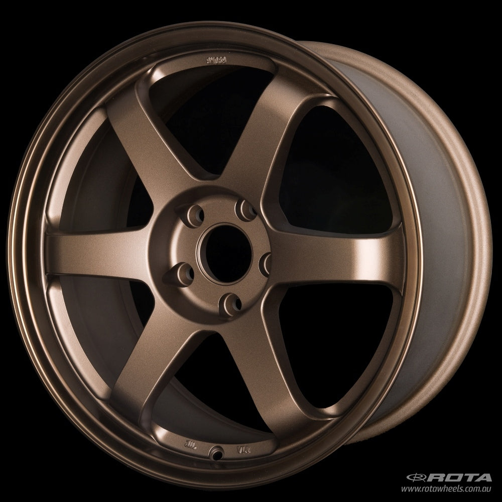 ROTA GRID 18 x 8.5, 5x114.3 +44 Speed Bronze