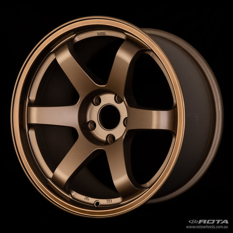 ROTA GRID R 18 x 9.5, 5x114.3 +25 Speed Bronze