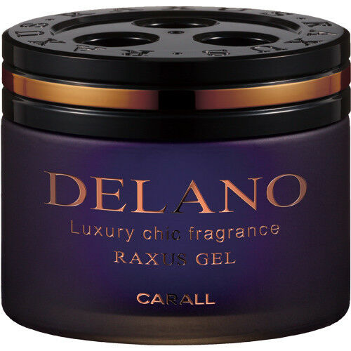CARALL RAXUS DELANO Air Freshener. Long Lasting Fragrance for your vehicle.  Made in Japan