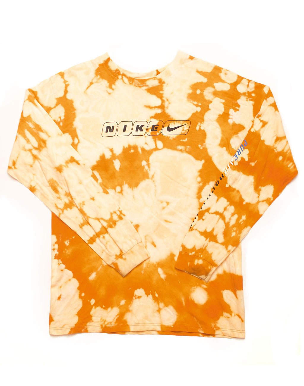 NIKE BLEACHED LONG SLEEVE T-SHIRT