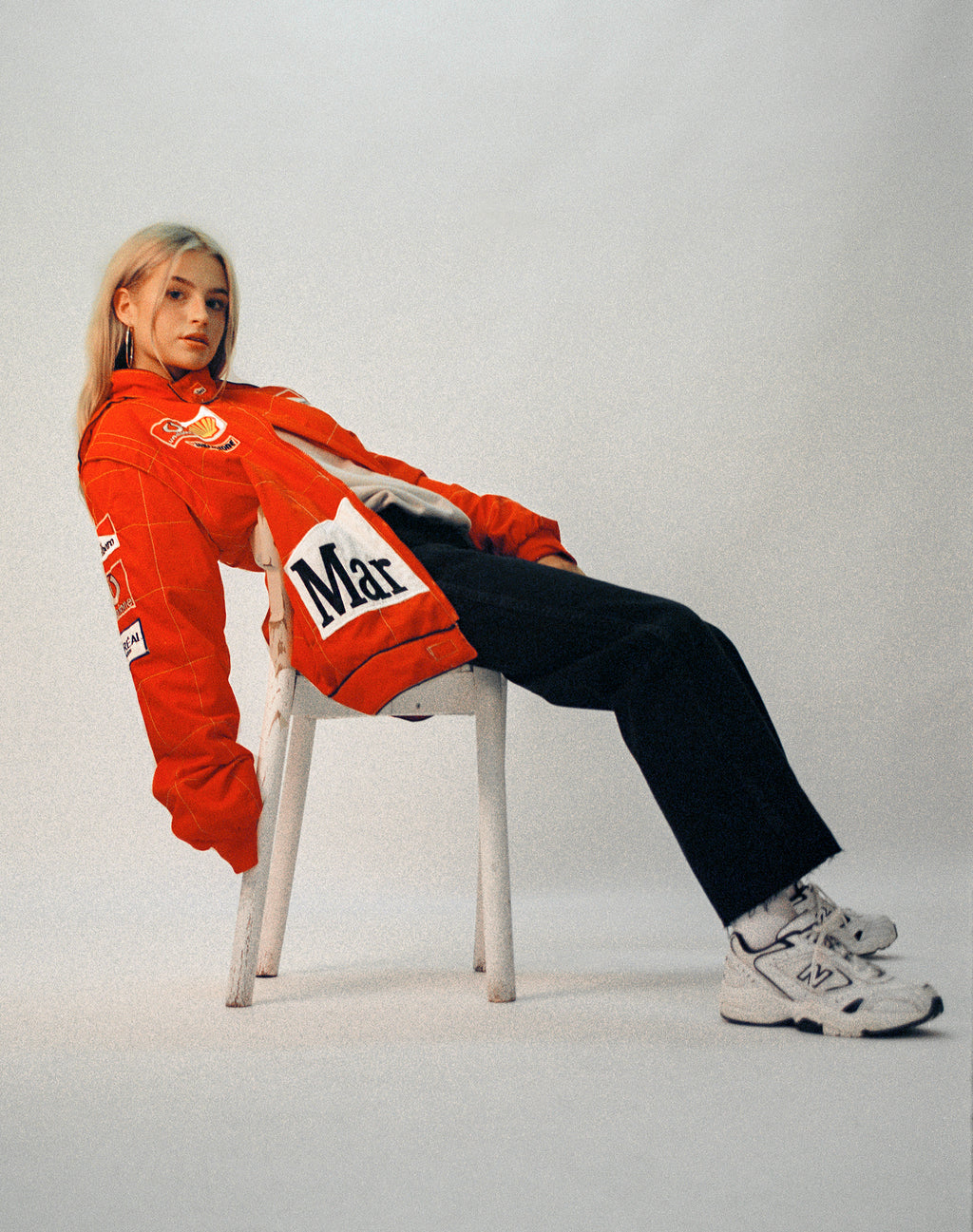 MARLBORO RED MOTOCROSS JACKET