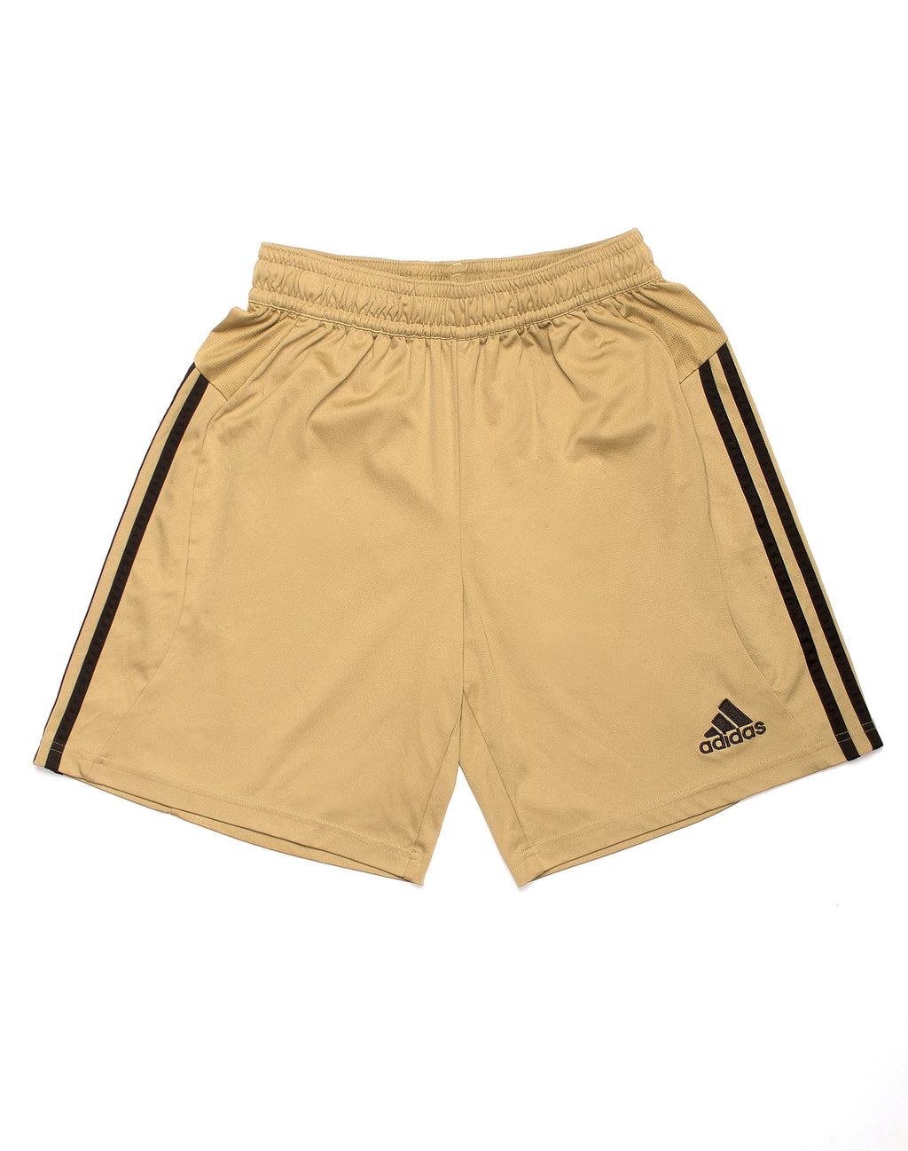 ADIDAS GOLD BASKETBALL SHORTS