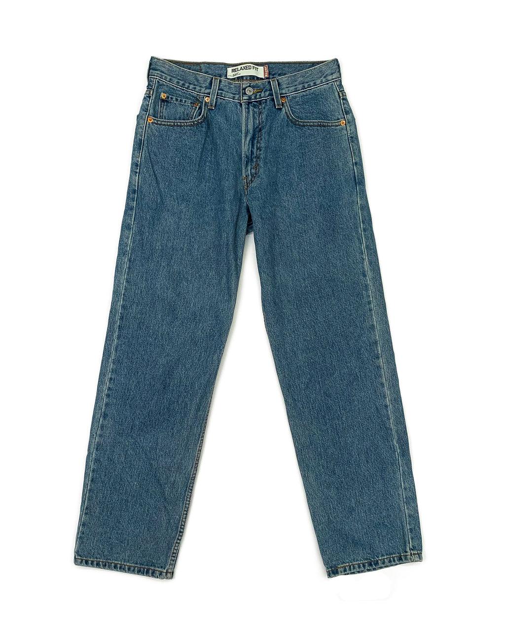 LEVI'S 550 LIGHT WASH DENIM JEANS