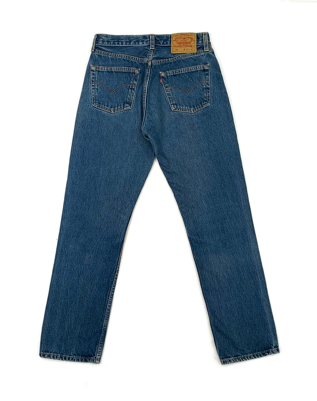 LEVI'S 501 MID-WASH JEANS