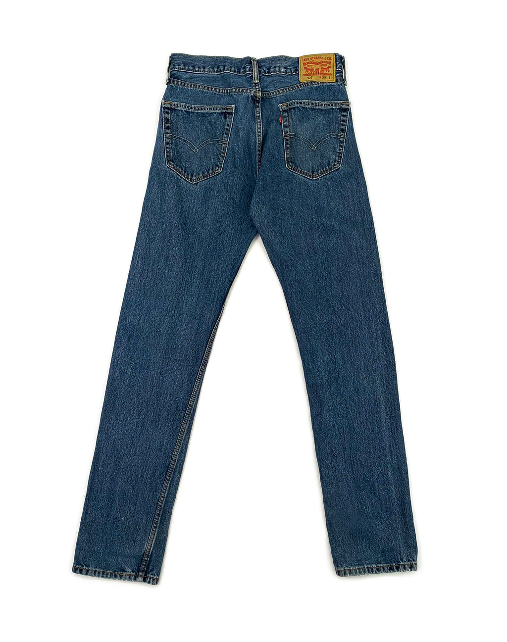 LEVI'S MID-WASH 505 JEANS