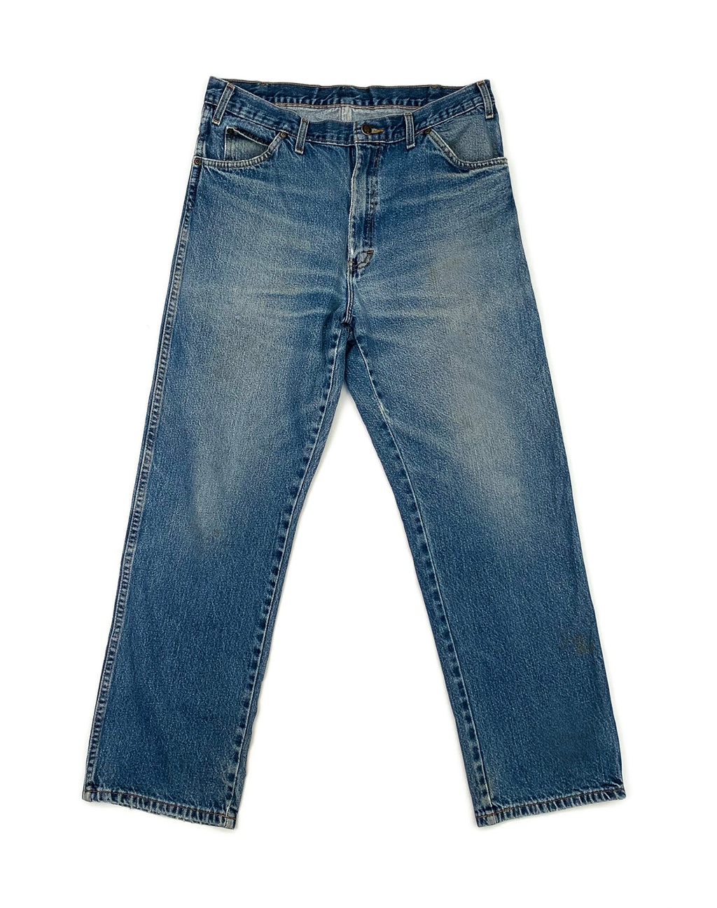 DICKIES MID-WASH DENIM JEANS