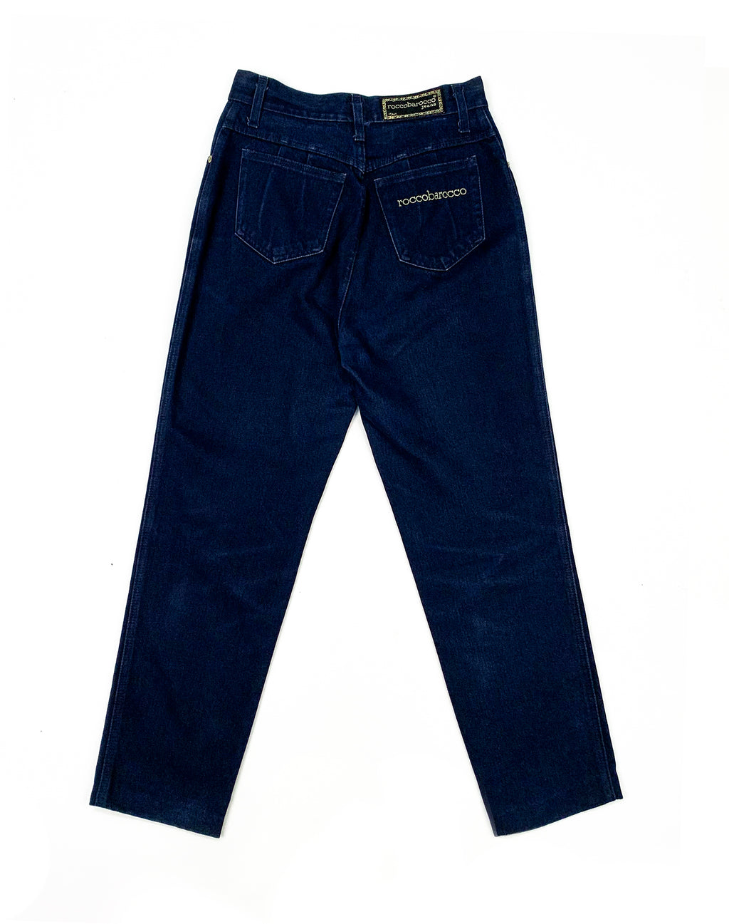 ROCCOBAROCCO DARK WASH DENIM JEANS