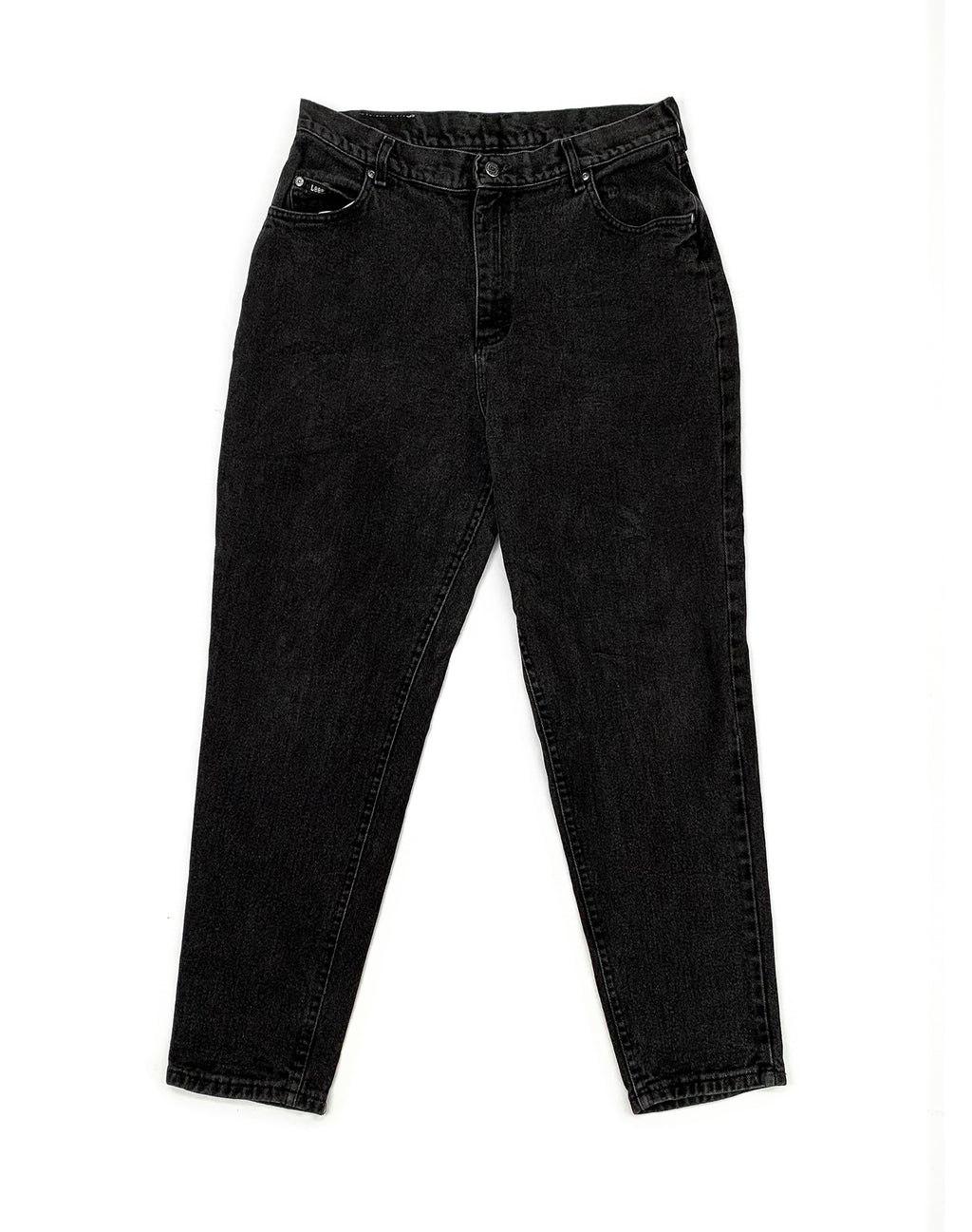 LEE WASHED BLACK DENIM JEANS