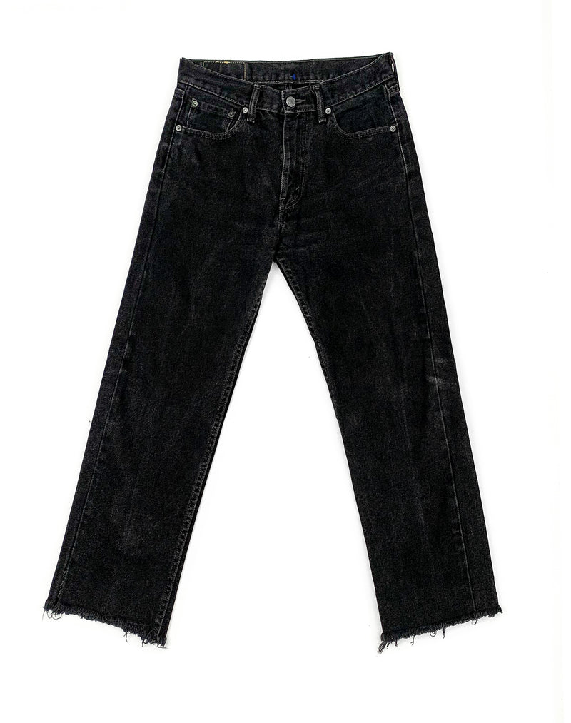 DARK BLUE DENIM TROUSERS