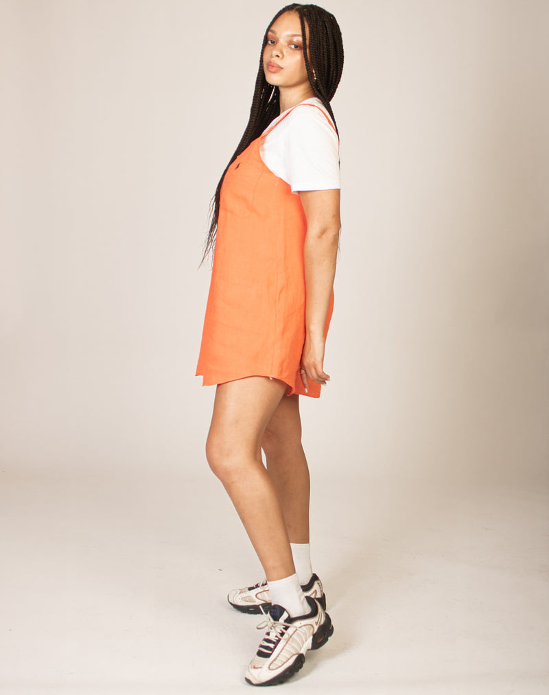 RALPH ORANGE OLLIE DRESS