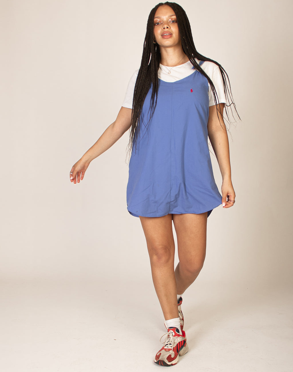 RALPH BLUE MAGGIE DRESS