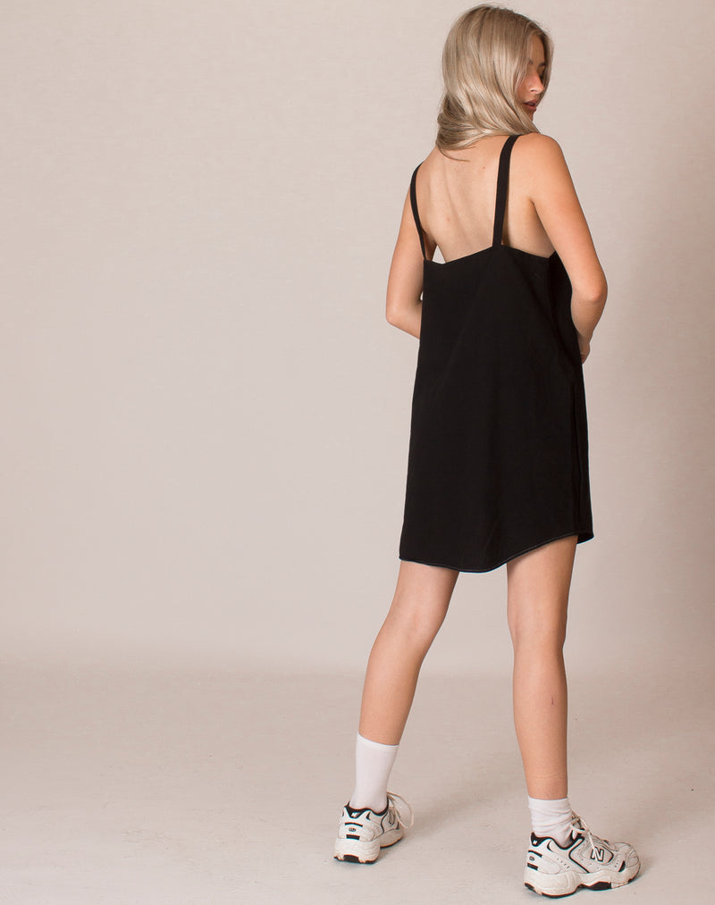 BLACK OLLIE DRESS