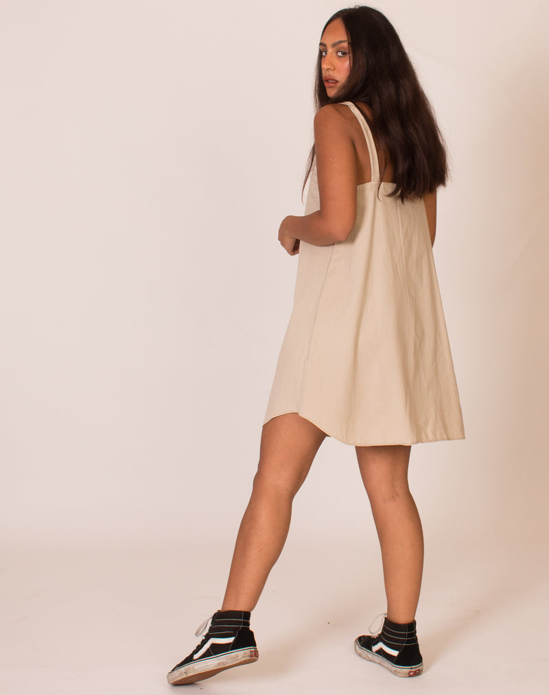 RALPH LAUREN BEIGE OLLIE DRESS