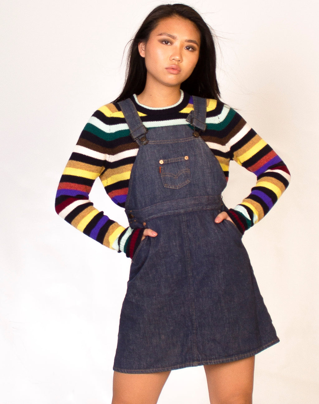 LEVI'S DENIM PINAFORE
