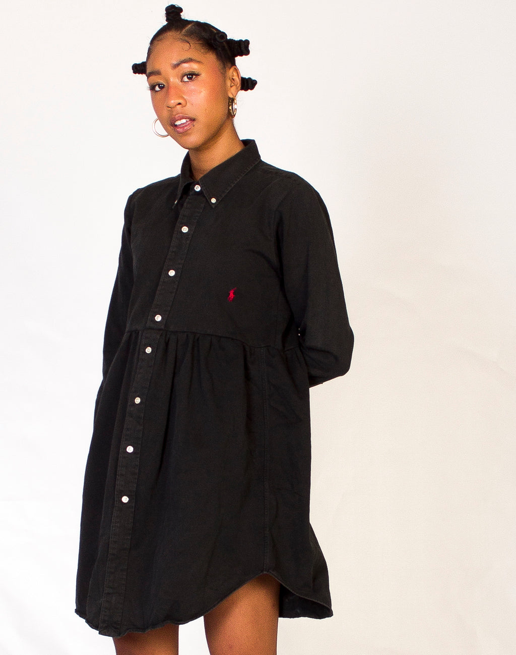 RALPH BLACK ROXY SMOCK DRESS