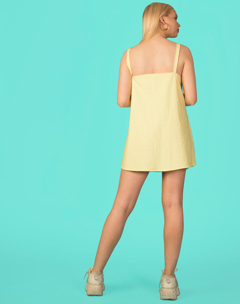 RALPH LEMON SORBET OLLIE SLIP DRESS