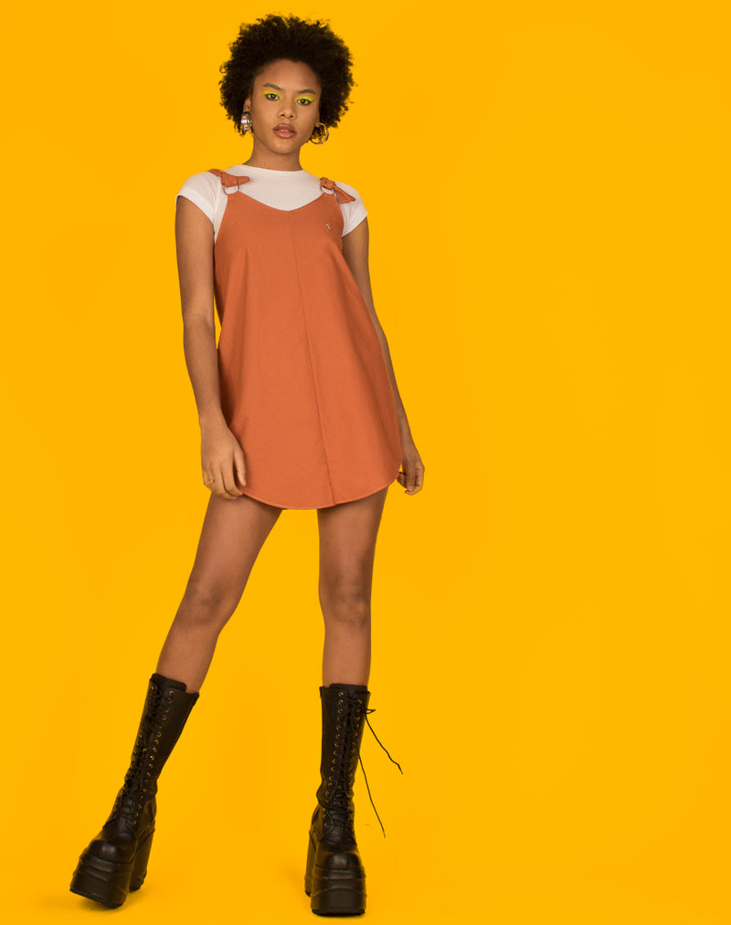 RALPH ORANGE MAGGIE DRESS