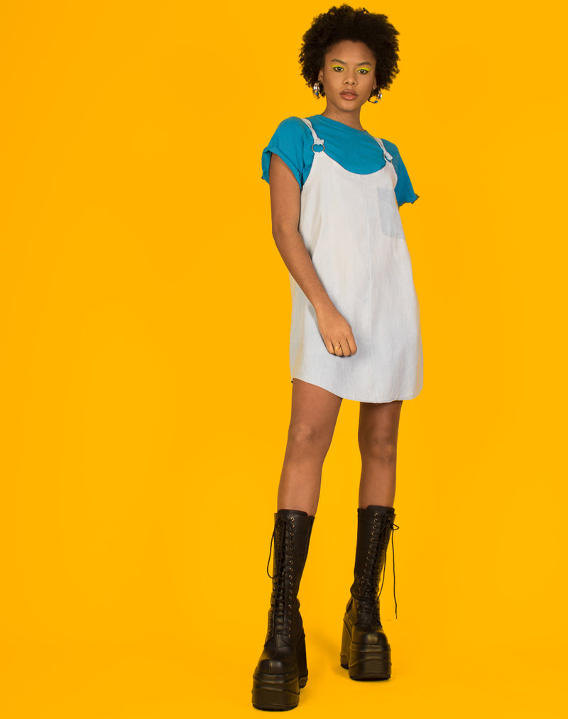 RALPH LIGHT BLUE MAGGIE DRESS