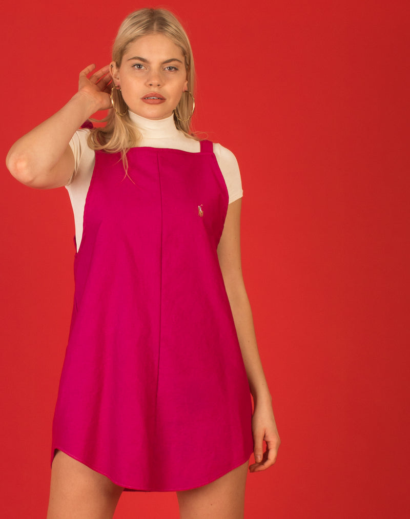 RALPH FUSCHIA KATIE DRESS