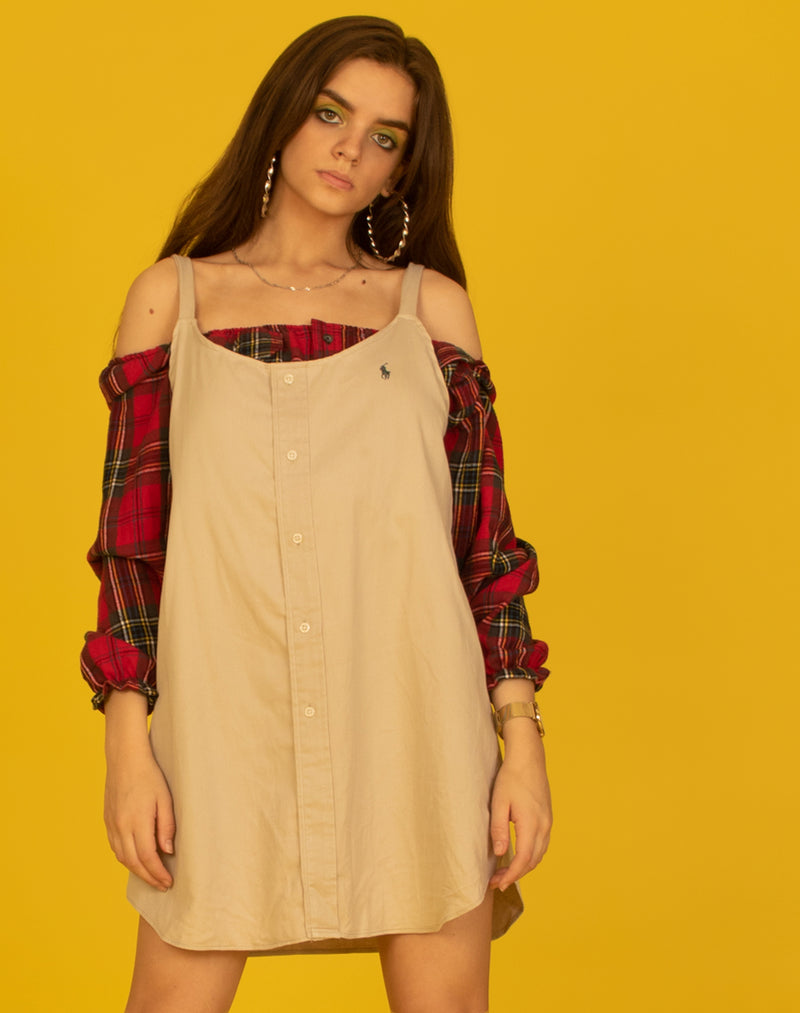RALPH STONE OLLIE SLIP DRESS