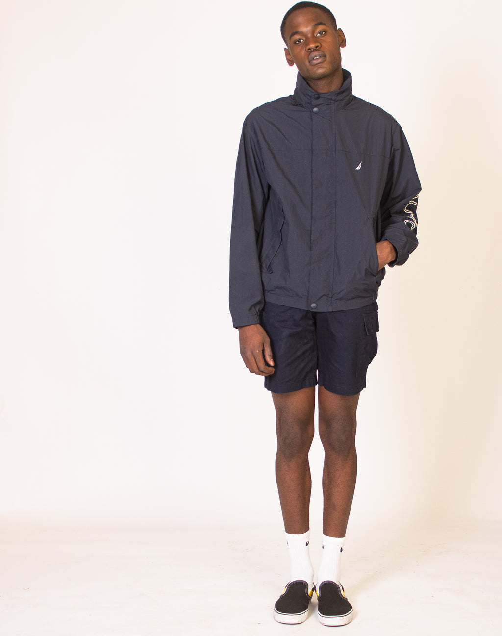 NAUTICA NAVY WATERPROOF JACKET