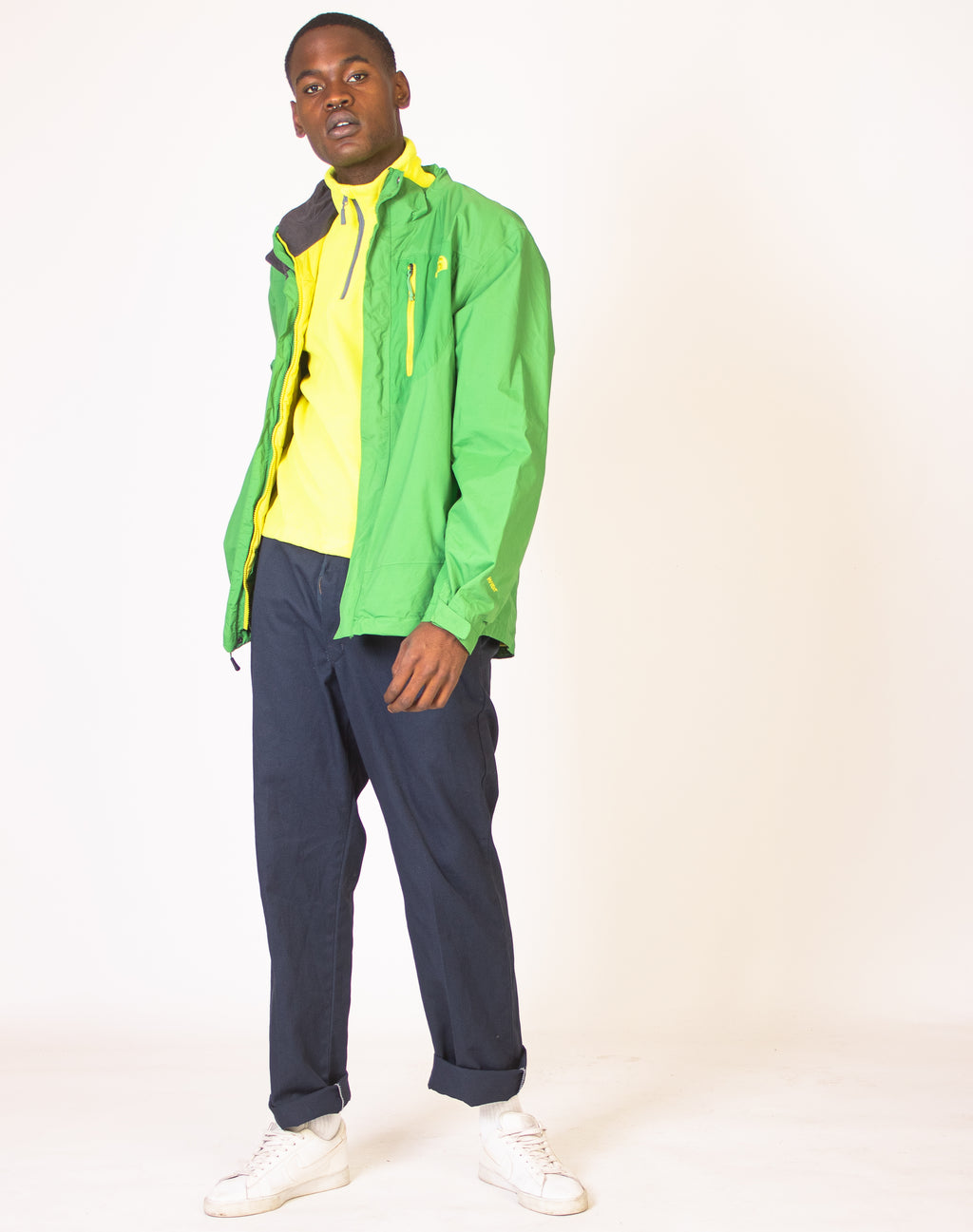 NORTH FACE WATERPROOF SHAMROCK JACKET