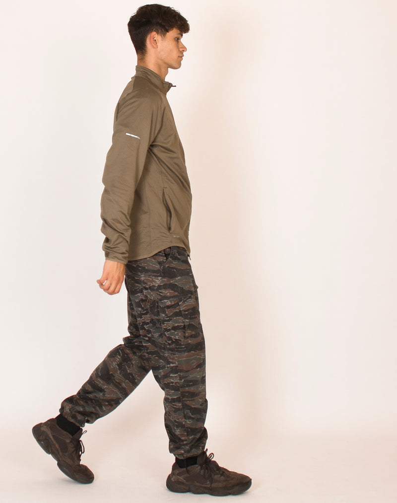 NIKE KHAKI DRI FIT JACKET