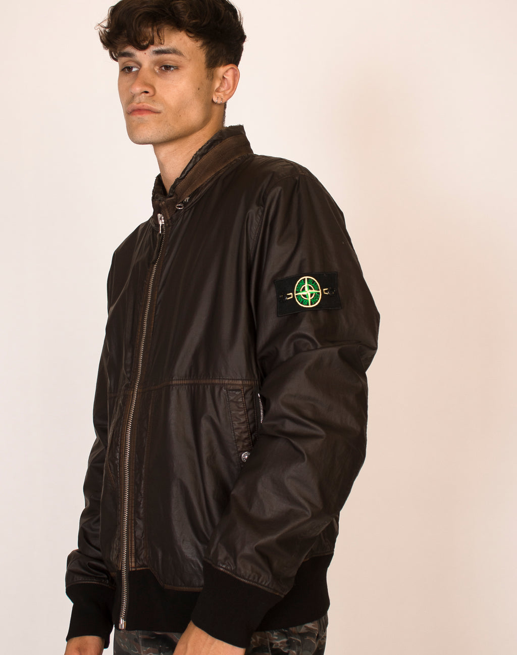 STONE ISLAND BROWN BOMBER