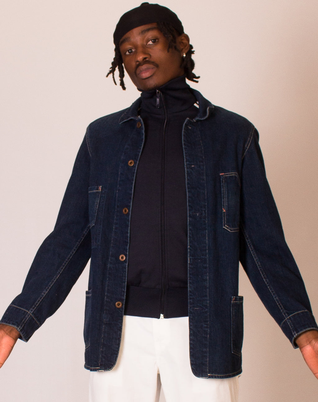 RALPH LAUREN DENIM WORK SHACKET