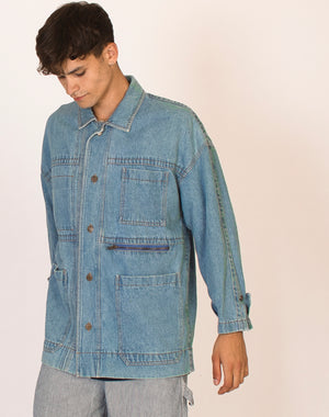 DKNY DENIM CHORE JACKET