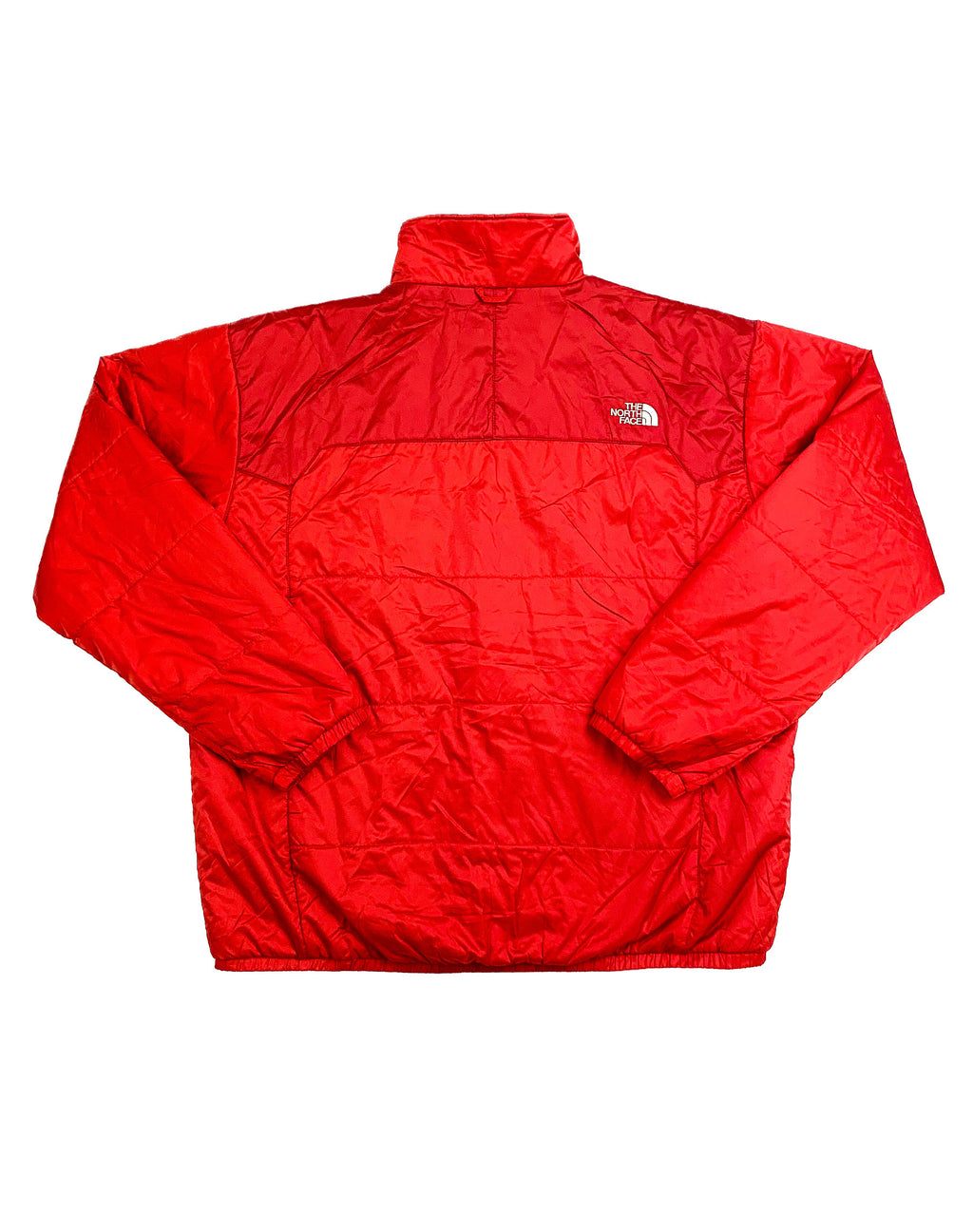 NORTH FACE RED LIGHTWEIGHT PUFFER