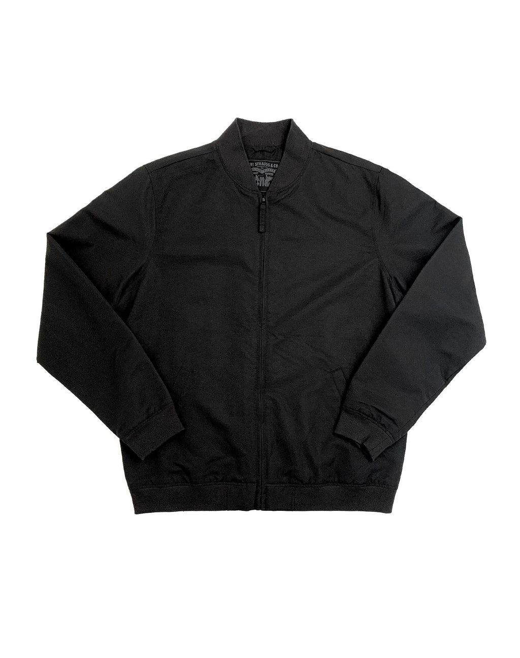 LEVI'S BLACK CANVAS JACKET