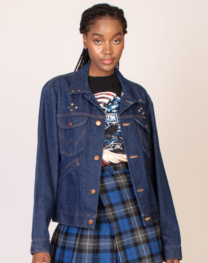 WRANGLER BLUE DENIM JACKET