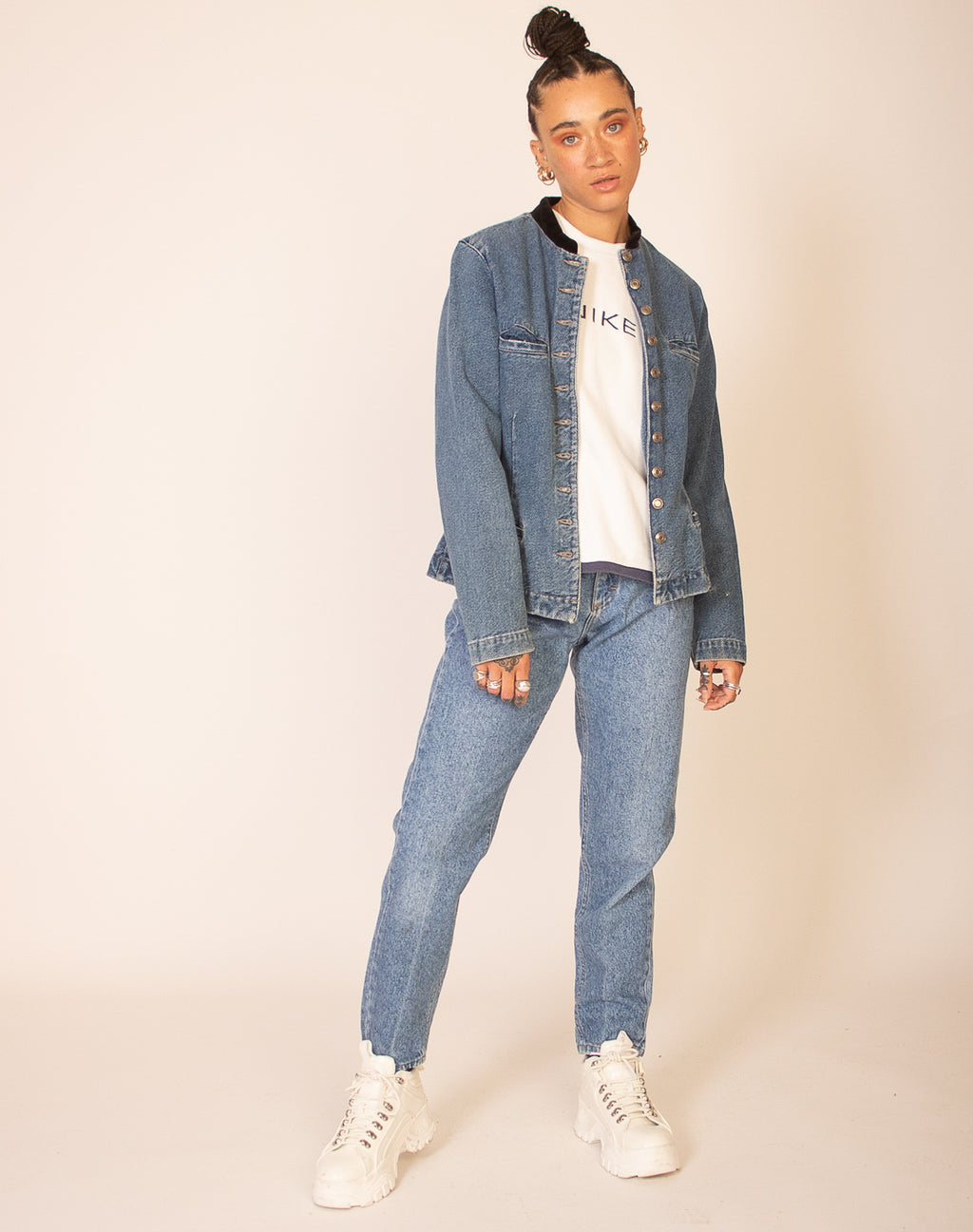 GAP BLUE DENIM JACKET