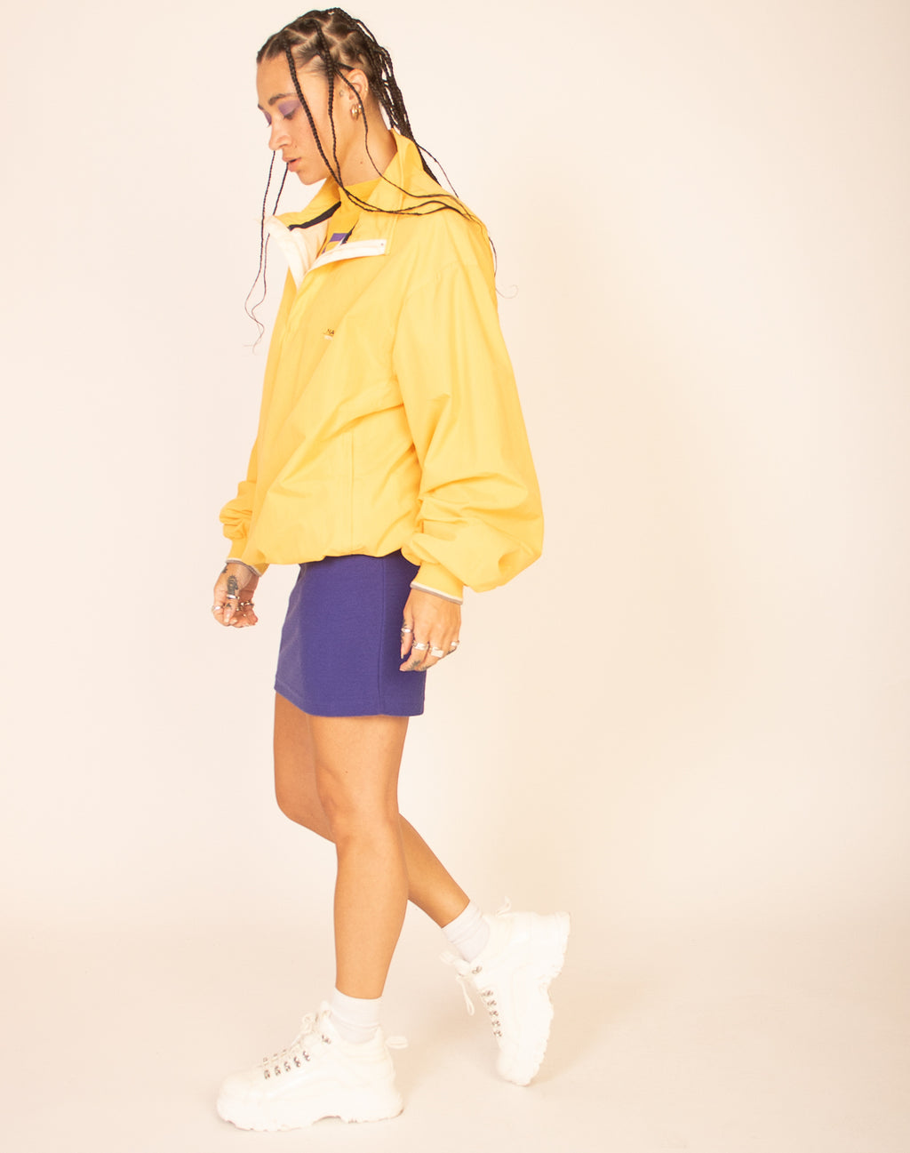 NAUTICA YELLOW WATERPROOF JACKET
