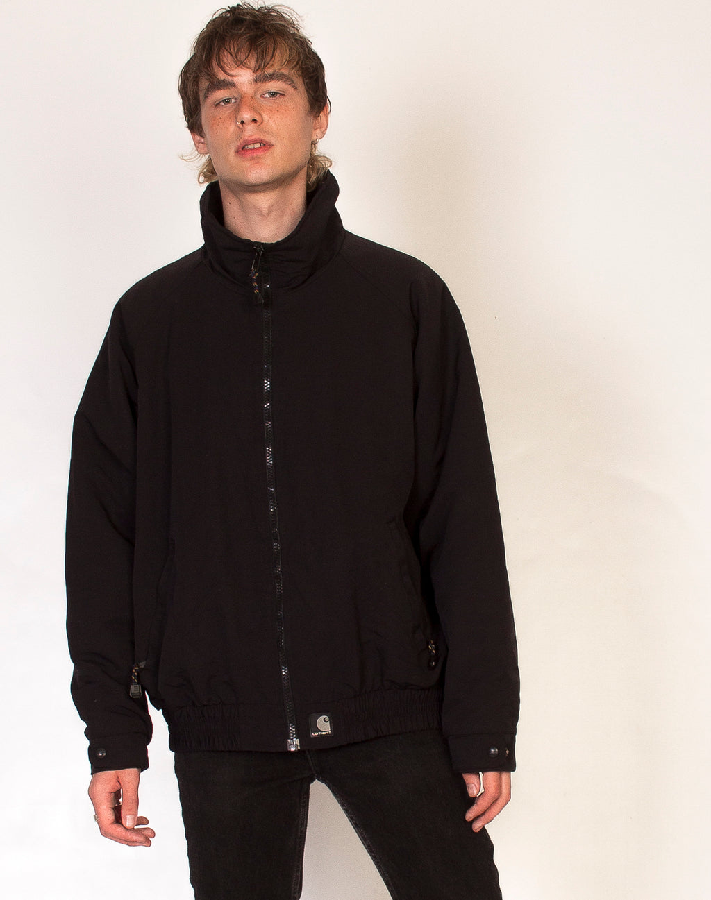 CARHARTT BLACK TRACK JACKET