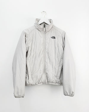 NORTH FACE OFF WHITE QUILTED JACKET