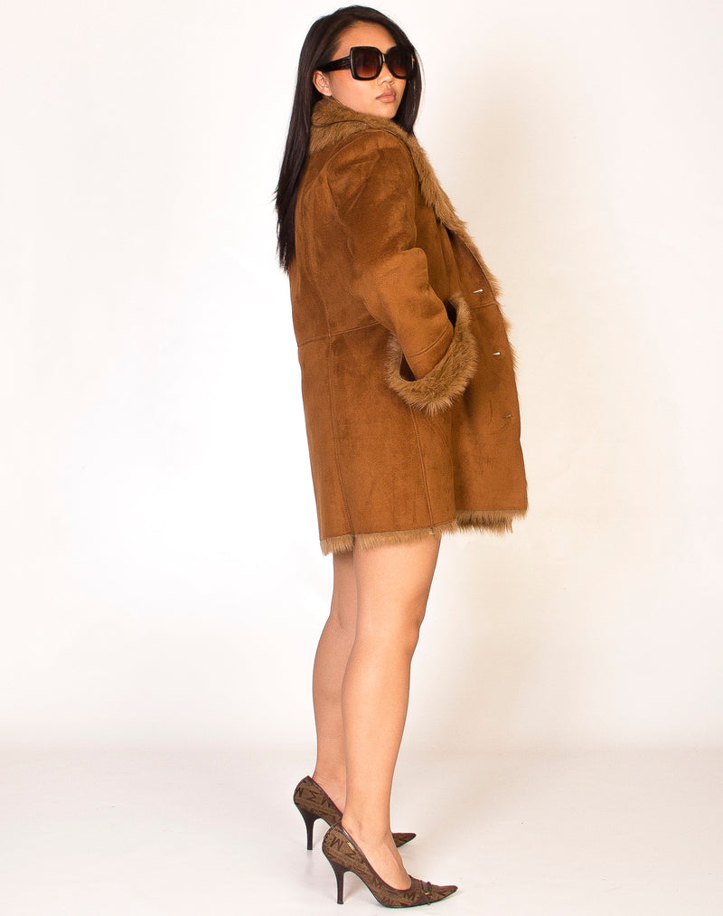 AFGHAN TAN COAT