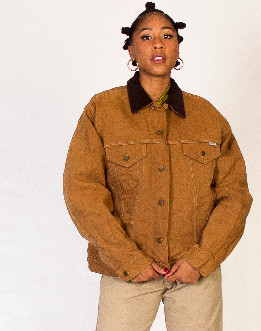 CARHARTT BROWN COACH JACKET