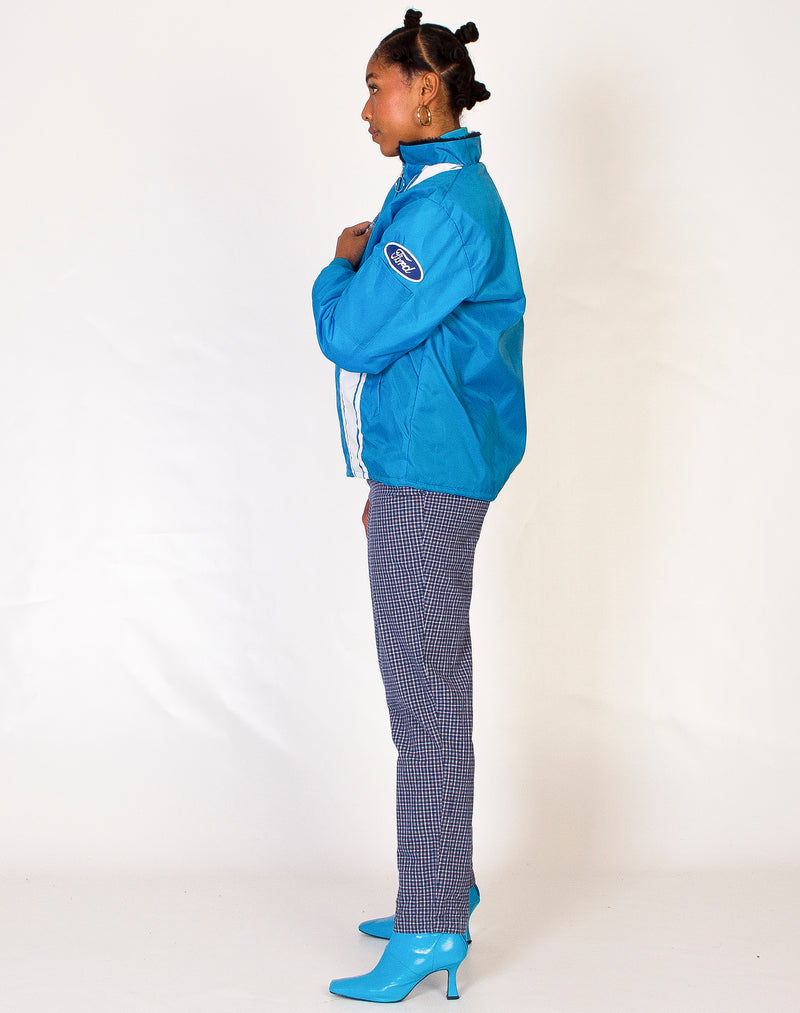 COBRA RACING BLUE BOMBER JACKET