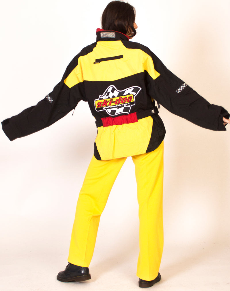 COLOUR BLOCK RACING MOTO JACKET
