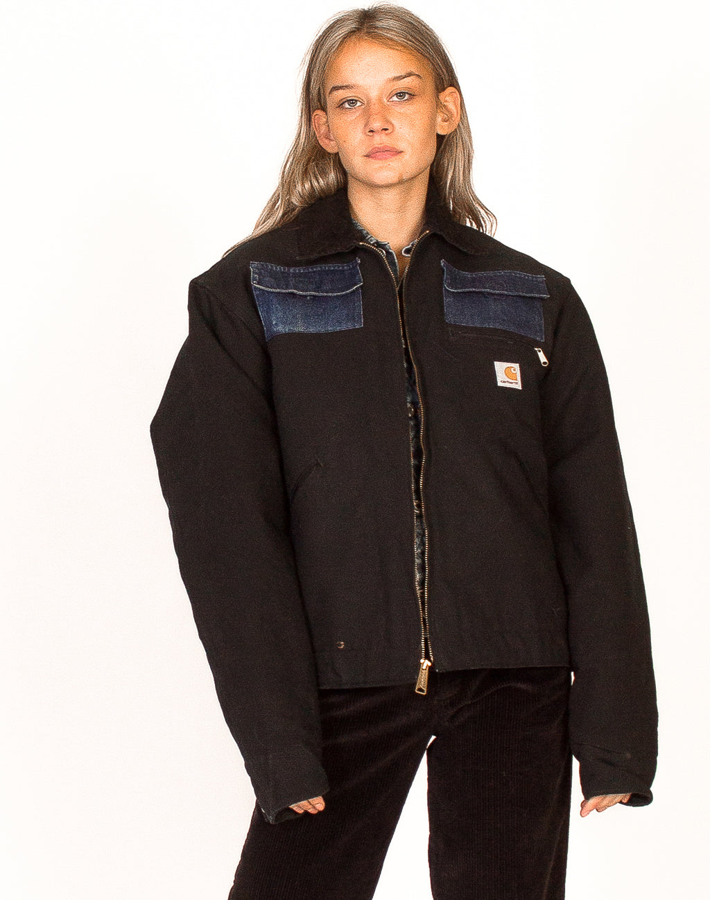 CARHARTT BLACK WORKWEAR JACKET