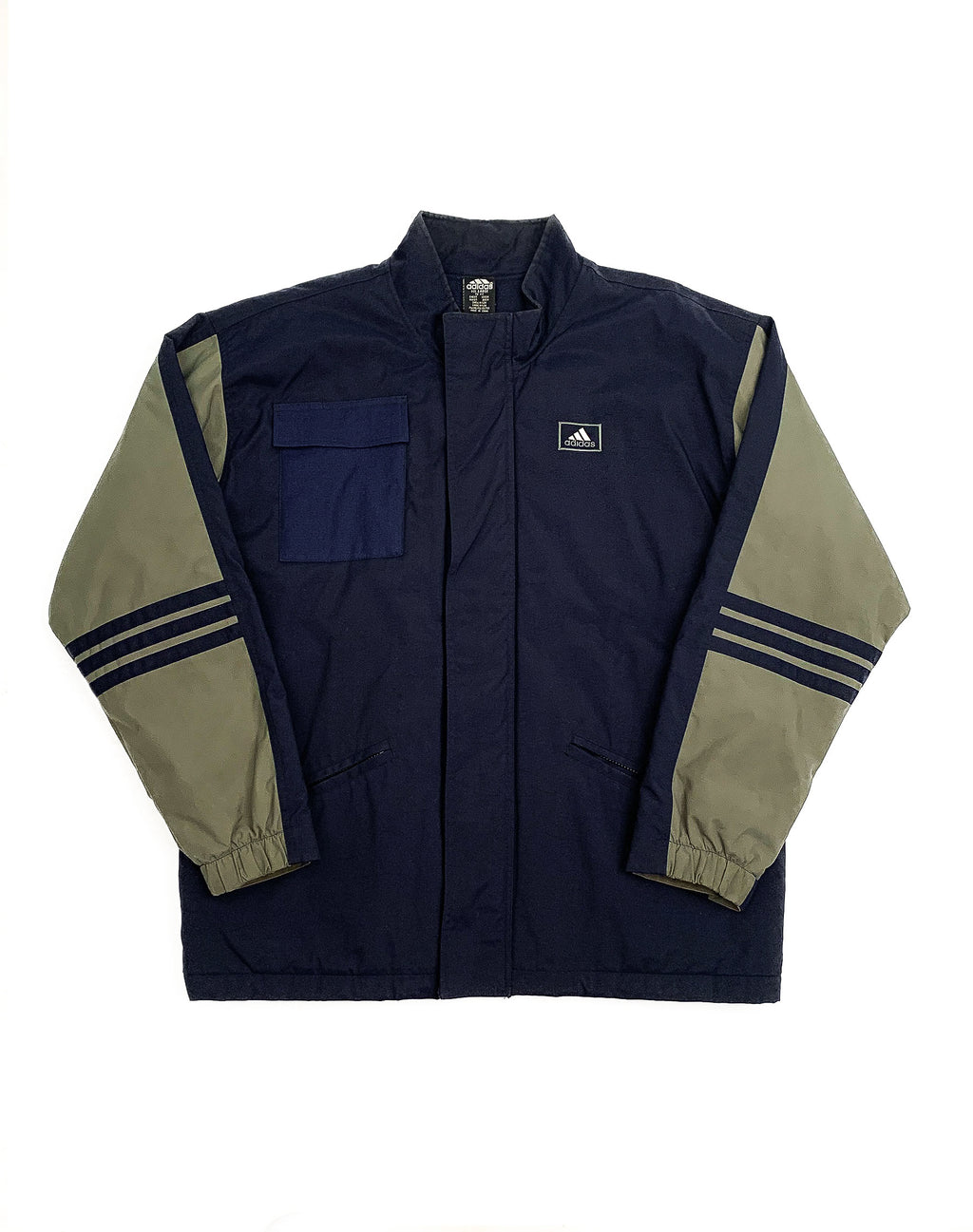 ADIDAS NAVY PADDED COAT