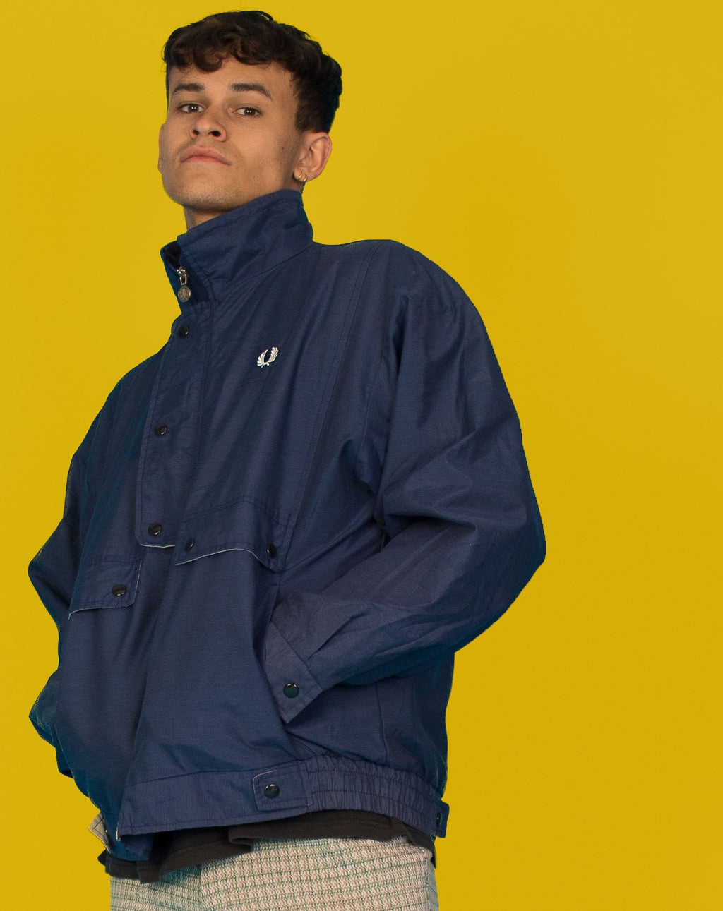 FRED PERRY DARK BLUE JACKET