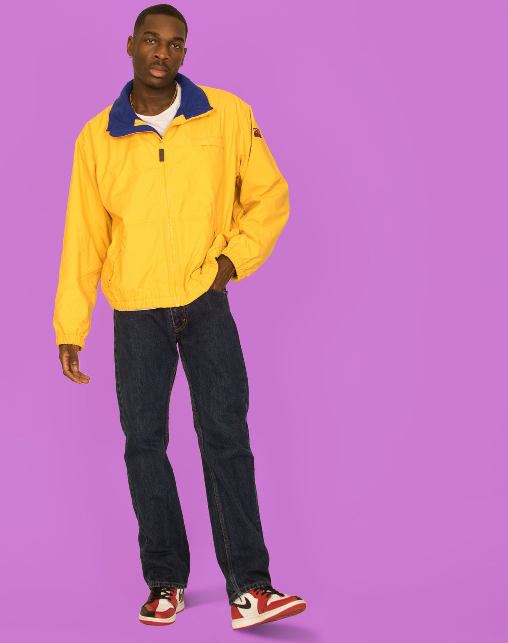 RALPH LAUREN POLO YELLOW WATERPROOF